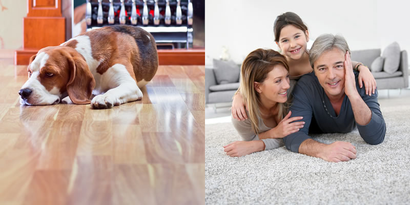 Choosing Carpet or Hardwood Flooring