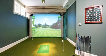 Indoor Simulated Golf